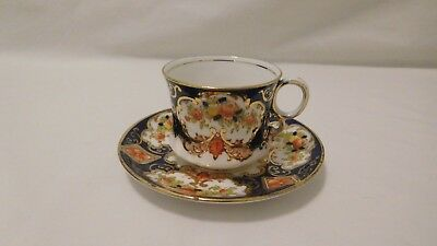 1900s ROYAL ALBERT CROWN CHINA COFFEE CUP AND SAUCER