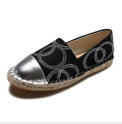 Espadrilles Ladies Flats Loafers Comfort Driving Moccasins Slip on Casual Shoes