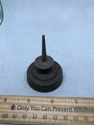 Old vintage tool small eagle oil can swing machine size oiler