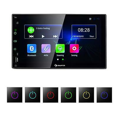 "[OCCASION] Autoradio Multimédia Voiture Bluetooth écran tactile 7""  4x45W USB 2"