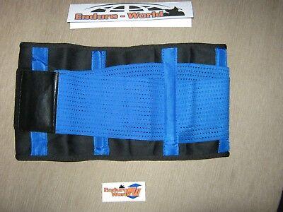 Enduro-World Body/Kidney Belt Motocross Enduro Blue/Blk New Med 28-32