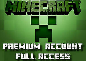 Minecraft JAVA Edition >> Premium Account >> FULL ACESS >> INSTANT DELIVERY !