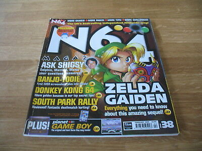N64 Nintendo official Magazine # 38 issue 38 February 2000