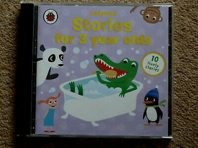 Ladybird Stories For 3 Year Olds     -  Audio Books -     ( 1  Cd   )