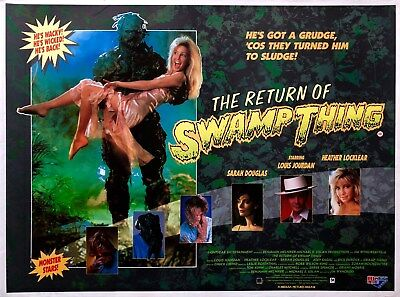 The Return of Swamp Thing Blu-Ray UK Edition Brand New & Sealed
