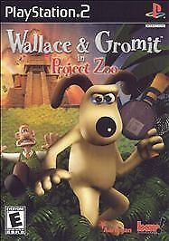 Wallace & Gromit in Project Zoo (Sony PlayStation 2, 2003)G