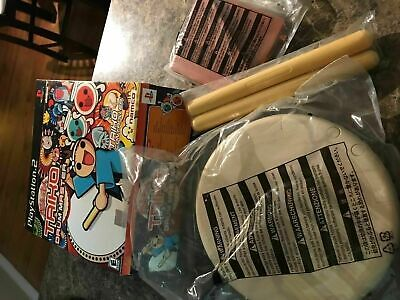 Traiko Drum Master Controller - Playstation 2 - In Box Mint - Missing Game