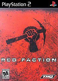 Red Faction (Sony PlayStation 2, 2002)VG