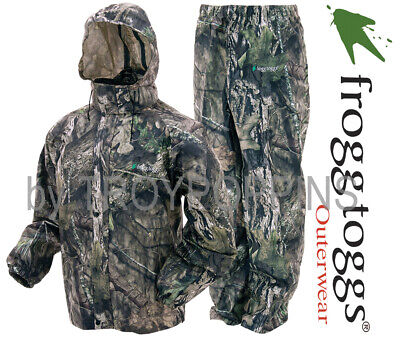 3cbeb1cea71c2 Frogg Toggs Rain Gear-As1310-62 All Sport Mossy Oak Country Camo Suit  Hunting