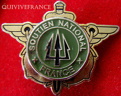 IN6359  - SOUTIEN NATIONAL FRANCE (TRIDENT), vert olive - KFOR