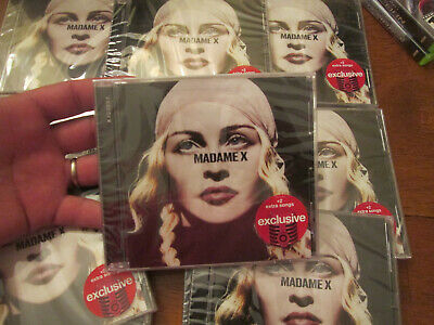 Madonna Madame X CD Deluxe Target Exclusive 2 EXTRA SONGS NEW