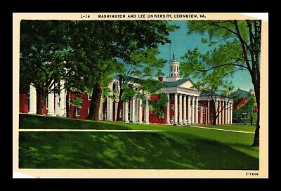 Dr Jim Stamps Us Postcard Washington And Lee University In Lexington Virginia