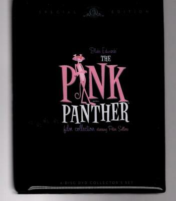 dvd PINK PANTHER Film Collection, Peter Sellers