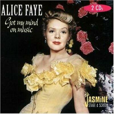 Alice Faye - Got My Mind On Music - Alice Faye CD CUVG The Cheap Fast Free Post