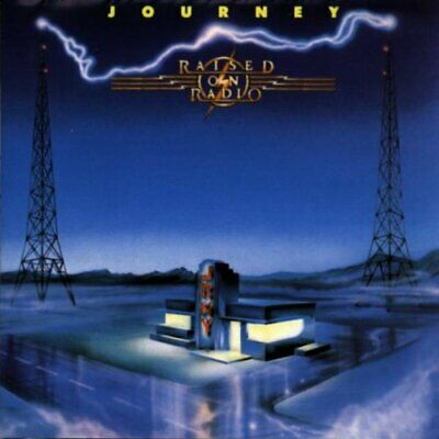 Journey - Raised On Radio - Journey CD U3VG The Cheap Fast Free Post The Cheap