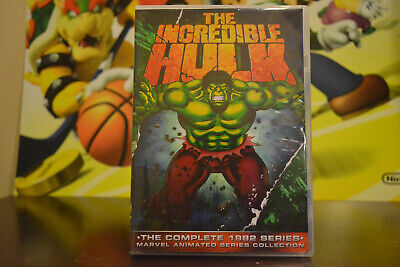 The Incredible Hulk The Complete 1982 Animated Series DvD Set