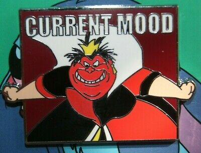 Disney Current Mood Mystery Collection Alice in Wonderland Queen of Hearts Pin