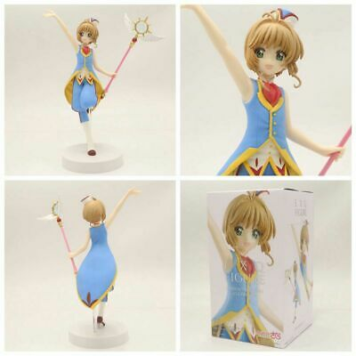 Anime Card Captor Sakura Clear Card Sakura Kinomoto EXQ PVC Figure New In Box