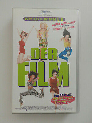 VHS Video Kassette Spiceworld Der Film Spice Girls