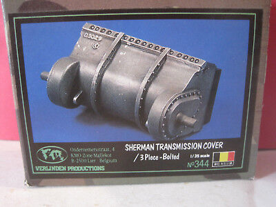 Verlinden Maquette Kit A Monter Sherman Transmission Cover 1/35 #344 Neuf Boite