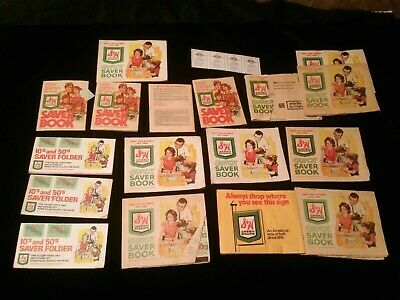 S & H GREENSTAMPS & 4 SWIFT GIFT DIVIDEND COUPONS -15 full books, 2 almost empty