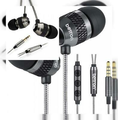 Betron B-25 Noise Isolating in Ear Canal Headphones Earphones with Pure Sound ,