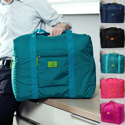 US Foldable Large duffel Bag Luggage Storage Waterproof Travel Pouch Tote Bag
