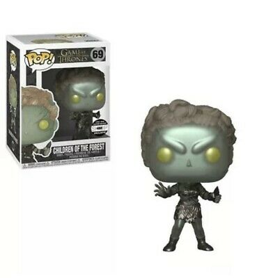 "FUNKO POP! Game of Thrones: Children of The Forest ""METALLIC"" NYCC 2018 #69 HBO"
