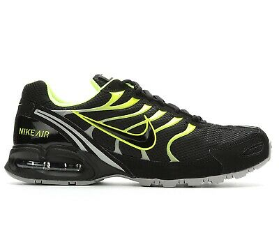 size 40 9df2d 29b36 Nike Air Max Torch 4 Mens 343846-011 Black Volt Grey Running Shoes Size 7