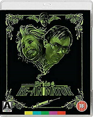 Bride of Re-animator (Dual-Format BluRay and DVD) (1989) [New Blu-ray]