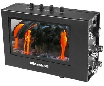"Marshall Electronics  V-LCD4-PRO-L 4"" Broadcast Monitor High resolution monitor"