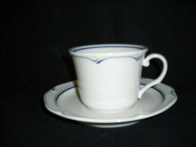 Noritake CLEAR LAKE 7914 - Teacup and Saucer BRAND NEW