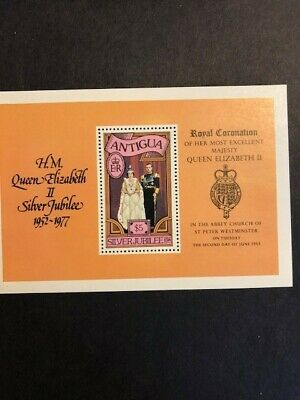 British Commonwealth stamps 1977 $5 Silver Jubilee souvenir stamp and collectabl