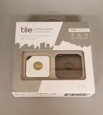 Tile Pro RT-14002-US Smart Trackers - Pack of 2