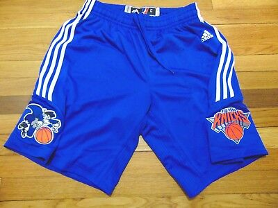 d1a2dae34165 ADIDAS NBA D-LEAGUE AUTHENTIC WESTCHESTER KNICKS GAME SHORTS SIZE L2 new  york