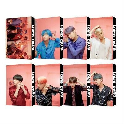 2019 KPOP BTS Map of The Soul Paper Lomo Photo Card New Album Photocard Poster