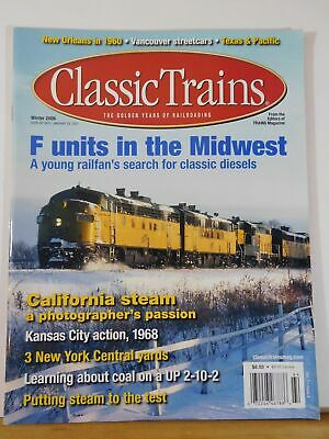 Classic Trains 2006 Winter F units in the midwest California Steam Kansas City 1