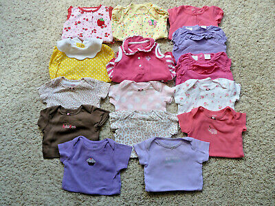 Mixed Items & Lots Baby & Toddler Clothing 17 Items Baby Girl Clothes Size 12 Months Mix Outfits One Piece Summer_z118_b11