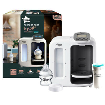 Tommee Tippee Closer to Nature Perfect Prep Day and Night, White
