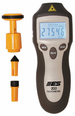 Electronic Specialties Inc. 333 Pro Laser Contact Tachometer