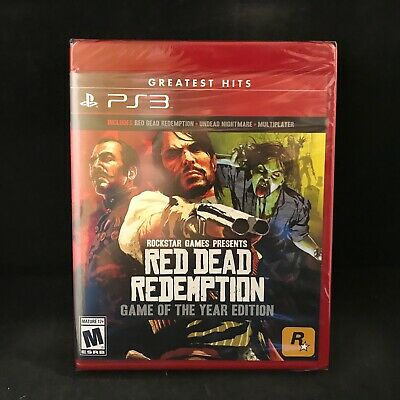 Red Dead Redemption Game of the Year Edition (PlayStation 3) Brand New