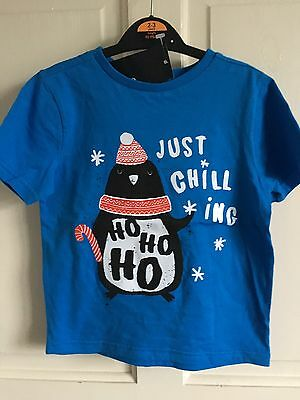 Brand New With Tags George T-Shirt. Boys. Age 3-4 Years..... Just Chilling