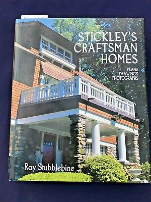 Rare Gustav Stickley Catalogue Raisonne Of His Arts & Crafts Homes & Interiors