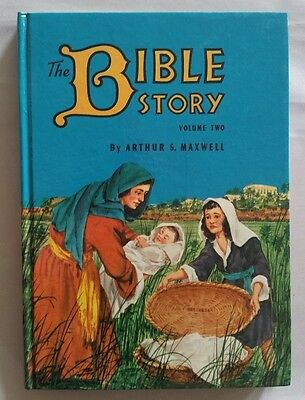 Vintage Arthur Maxwell The Bible Story Book Volume Two 1954