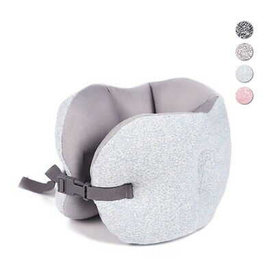 Travel Pillow Air Plane Sleep Neck Support Cushion Pillow Fill In Foam Particles