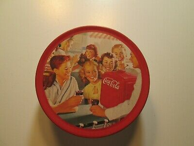 Advertising Coca Cola Tin set of 6 Drink Coaster