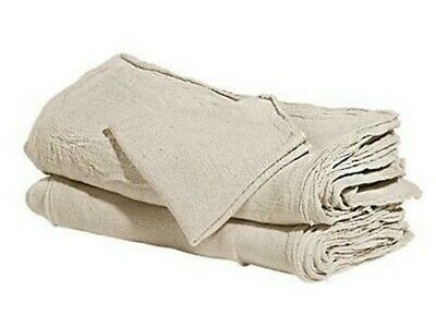 1000 industrial shop cleanup rags / towels natural