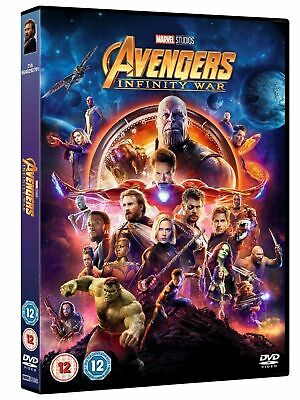 Avengers Infinity War DVD  - Brand New & Sealed - Fast & Free Post