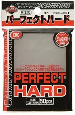 10x KMC CARD  50pcs  Perfect Fit Hard Sleeves for  89x64mm F/S