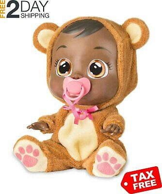 Cry Babies Bonnie Bear Baby Doll Tearful Scream And Shout By Taking Off Pacifier